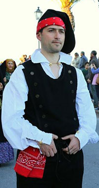 Massimiliano in costume